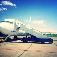 Photo taken at Международный аэропорт Большое Савино / Bolshoye Savino International Airport (PEE) by Marina L. on 6/9/2013