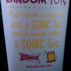 Photo taken at SONIC Drive In by Jessica on 1/2/2012