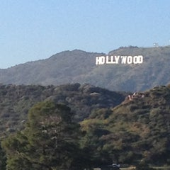 Photo taken at Griffith Park - Western Ave Entrance by Cherry V. on 2/5/2013