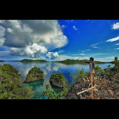 Photo taken at Raja Ampat Islands by kang v. on 5/17/2013