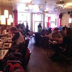Photo taken at Café Lézard by Eric M. on 3/30/2014