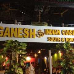 Photo taken at Ganesh Indian Restaurant by David A. on 1/7/2013