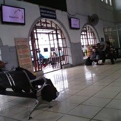 Photo taken at Stasiun Pasar Senen by dEricT M. on 2/15/2013