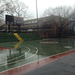 Photo taken at Rucker Park Basketball Courts by Keita F. on 2/23/2013