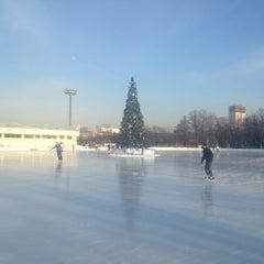 """Photo taken at Каток """"Южный полюс-Лужники"""" by Irina Z. on 2/22/2013"""