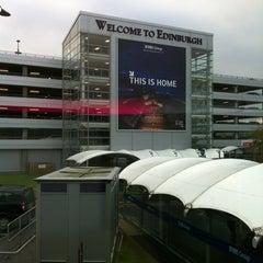 Photo taken at Edinburgh Airport (EDI) by Fiedler J. on 10/24/2012
