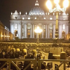 Photo taken at Piazza Pio XII by Sergey K. on 10/23/2013