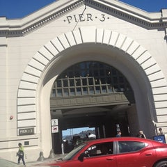 Photo taken at Pier 3 by Rosa H. on 3/9/2013