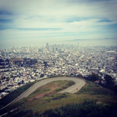 Photo taken at Twin Peaks Summit by Morgan M. on 4/3/2013