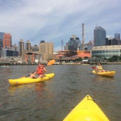 Photo taken at DTBH - Pier 96 by David B. on 6/28/2014