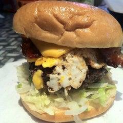 Photo taken at Stella's Hamburgers by Geoff F. on 10/30/2012