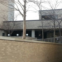 Photo taken at Lake County Courthouse & Administration Building by Paul B. on 12/7/2012