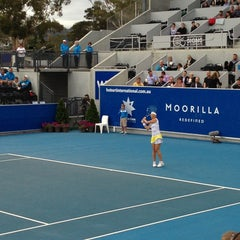 Photo taken at Hobart International Tennis Centre by Hollie A. on 1/10/2013