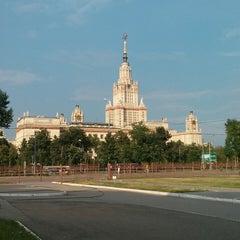 Photo taken at Исторический факультет МГУ by Pavel S. on 6/28/2013