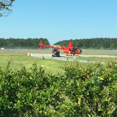 Photo taken at Huffman Helicopters by Lisa Ann Setchel on 4/16/2014