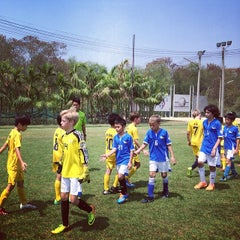 Photo taken at Arsenal Soccer Schools by Bas Talaythai on 3/2/2014