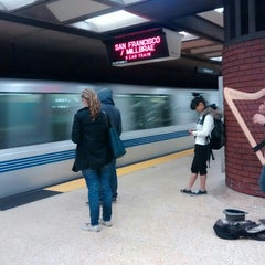 Photo taken at Downtown Berkeley BART Station by Florian on 4/15/2015