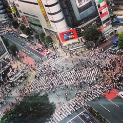 Photo taken at 渋谷駅 (Shibuya Sta.) by Rachel L. on 7/11/2013