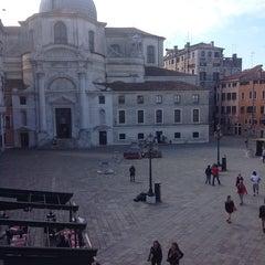 Photo taken at Chiesa dei S. Geremia e Lucia by Yulia M. on 4/16/2013