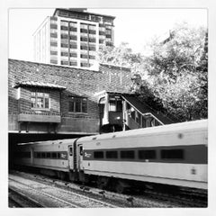 Photo taken at Metro North - Fordham Train Station by Fernando P. on 10/12/2012