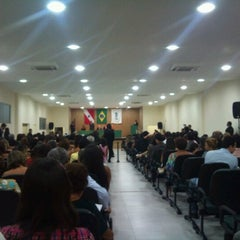 Photo taken at Instituto de Estudos Superiores da Amazônia by Tiago S. on 1/18/2013