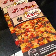 Photo taken at Super Pizza Pan by Patrícia B. on 5/12/2013