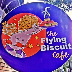Photo taken at The Flying Biscuit Cafe by Brad on 9/29/2012