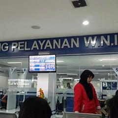Photo taken at Kantor Imigrasi Kelas I Khusus Surabaya by Lyta B. on 4/17/2015