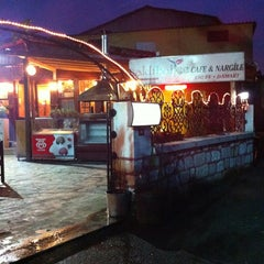 Photo taken at Saklı Bahçe Cafe&Nargile by Çiğdem K. on 2/21/2013