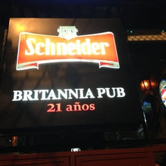 Photo taken at Britannia Pub by Stefan w. on 4/19/2013