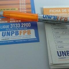 Foto tirada no(a) FPB - Faculdade Internacional da Paraíba por Juliana A. em 1/25/2013