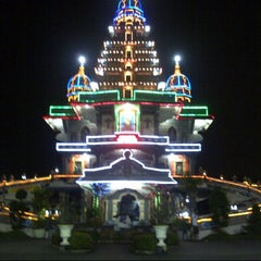 Photo taken at Graha St. Maria Annai Velangkanni by Martha L. on 1/15/2013