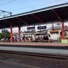 Photo taken at Stasiun Depok Lama by Surya W. on 3/13/2013