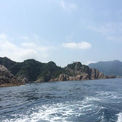 Photo taken at 浦富海岸 by トーマス on 8/9/2015