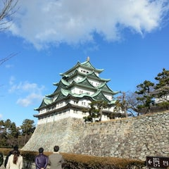 Photo taken at 名古屋城 (Nagoya Castle) by 머글 김. on 1/18/2013
