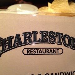 Photo taken at Charleston's Restaurant by Eat With Dan on 11/3/2012