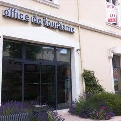 Photo taken at Office de Tourisme by Pascale Z. on 6/29/2013