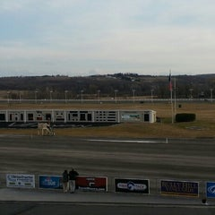 Photo taken at Vernon Downs Harness Track by Jim D. on 4/12/2014
