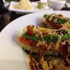 Photo taken at Newport Fusion Sushi by Karen on 10/23/2015