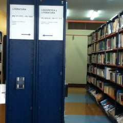 Photo taken at Biblioteca Central - PUCP by Arturo P. on 3/7/2013