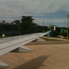 Photo taken at Aeropuerto Internacional de Mérida (MID) by Antonio E. on 3/2/2013