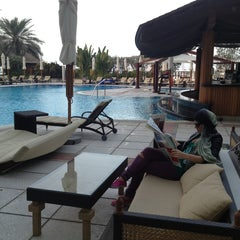 Photo taken at Hilton Dubai Jumeirah Resort by Katrin S. on 1/13/2013