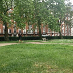 Photo taken at Grosvenor Square by Rose D. on 6/7/2013