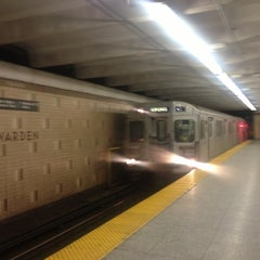 Photo taken at Warden Subway Station by Anthony D. on 1/19/2013