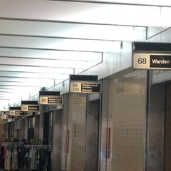 Photo taken at Warden Subway Station by Anthony D. on 1/20/2013