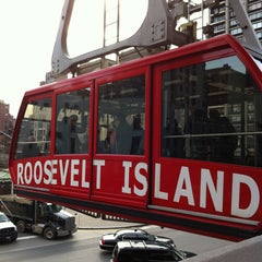 Photo taken at Roosevelt Island Tram by Anthony P. on 1/17/2013