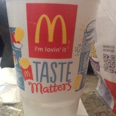 Photo taken at McDonald's by Kaya P. on 2/6/2014