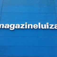 Photo taken at Magazine Luiza by Jadiel A. on 4/6/2013