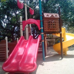 Photo taken at Parque Recreacional La Aguada by Monika P. on 4/21/2013