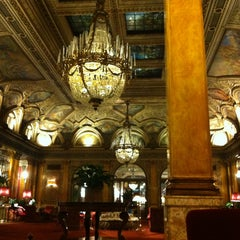 Photo taken at Grand Hotel Plaza by Varvara S. on 3/20/2013